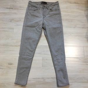 Levi's Light Grey Skinny Jeans